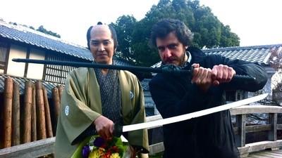 Fui a un set samurai y casi me matan