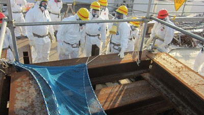 La mafia japonaise embauche des sans-abri pour nettoyer Fukushima