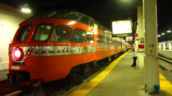 The Station to Station Train Throws a Party in Pittsburgh and Sets Off Towards Chicago