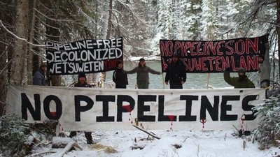 Will the Northern Gateway Pipeline Push Through Unsurrendered First Nations Land in BC?