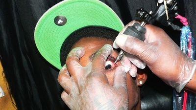 Jamaican Dancehall Artists Are Blinding Themselves by Getting Eyeball Tattoos