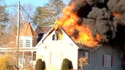 A Woman in Alabama Tried to Get TP Off Her House by Setting It on Fire