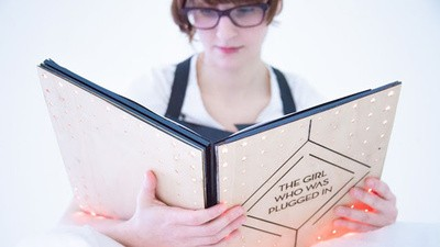 A Wearable Book Feeds You Its Characters' Emotions As You Read