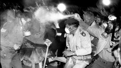 Ian Berry es el único fotógrafo que presenció la Matanza de Sharpeville