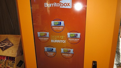 We Tried a Futuristic Burrito Vending Machine Called 'Burrito Box'