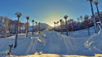 How Sochi Made 1,000 Football Fields Worth of Fake Snow
