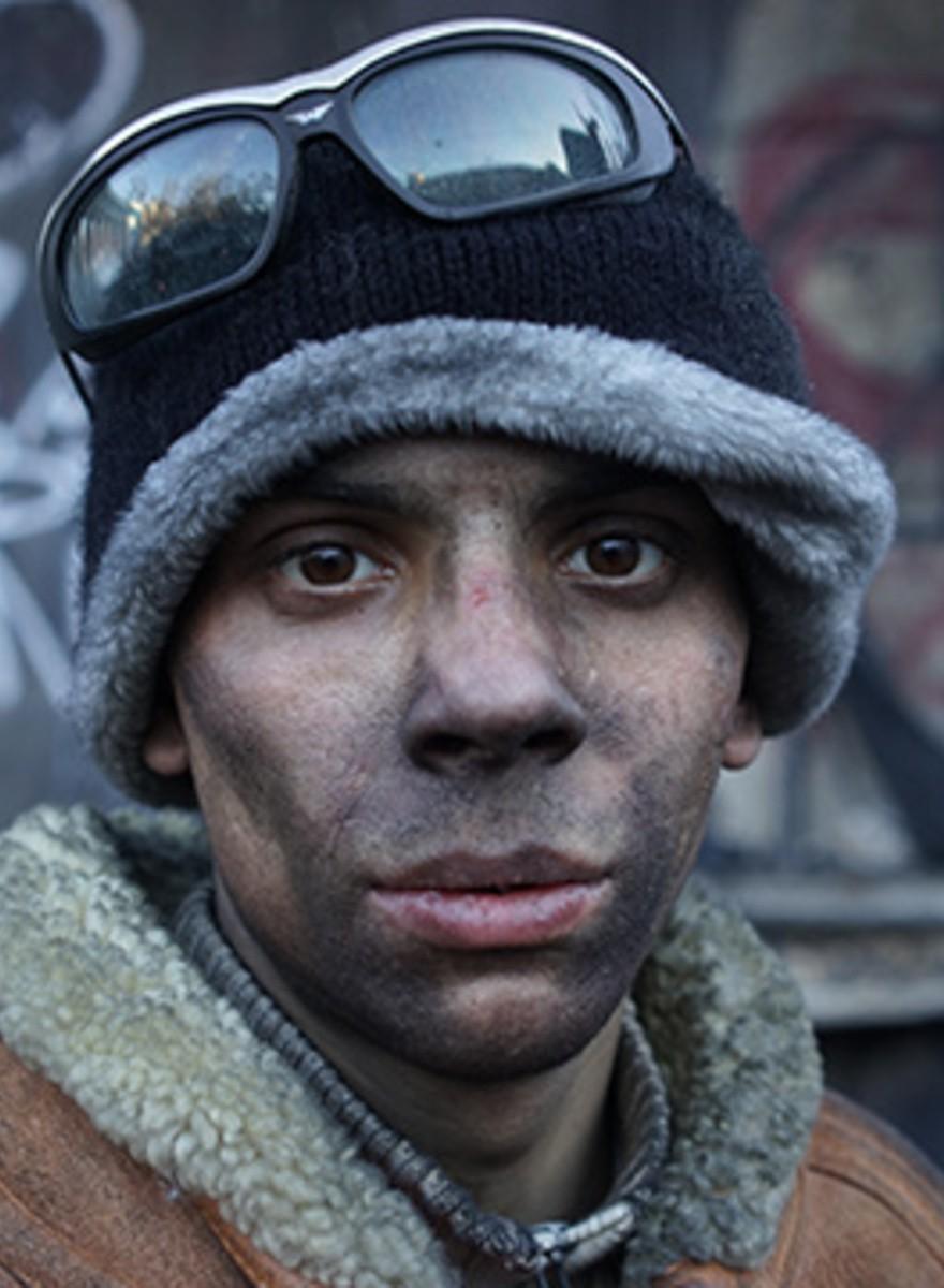 Kiev: rostros desde el frente