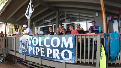 Hanging Out with the Surfers from the Volcom Pipe Pro