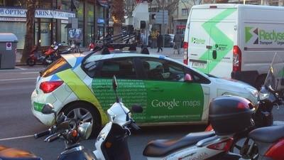 Google Street View está fotografiando Barcelona ahora mismo