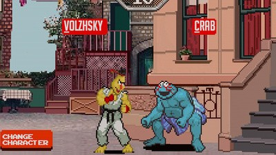 'Sesame Street Fighter' Is the Logical Fusion of Two Childhood Favorites