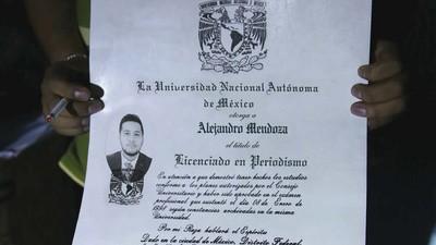 Fuimos a Santo Domingo a que nos sacaran un título universitario falso