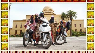Motociclistele din Maroc sunt mai dure decât te-ai aştepta