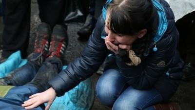 Die Hotels in Kiew werden zu Leichenhallen