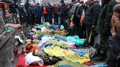 Las muertes incrementan y los hoteles en Kiev están funcionando como morgues