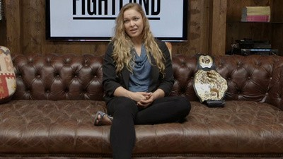 MMA Fighter Ronda Rousey Talks About Going from Olympic Bronze to UFC Gold