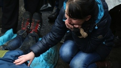 Hotels in Kiev Are Being Turned into Morgues as the Death Toll Mounts