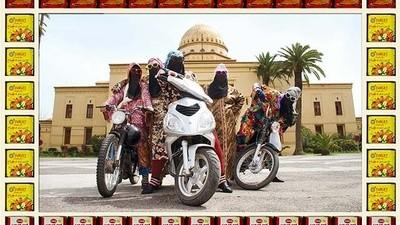 Vrouwelijke motorbendes van Marrakesh