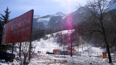 Sotsji was ook vóór de Spelen een bizar winterwonderland