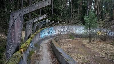 Von den Winterspielen in Sarajevo sind nur noch Ruinen übrig
