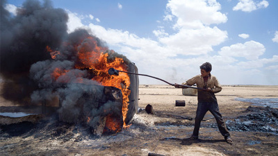 Syria's Illegal Oil Wells