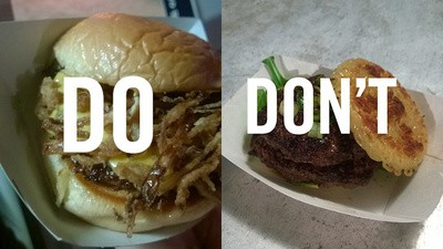 Dos and Don'ts of the Burger Bash