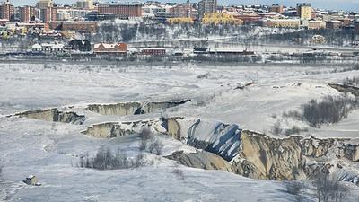La città svedese che sta sprofondando
