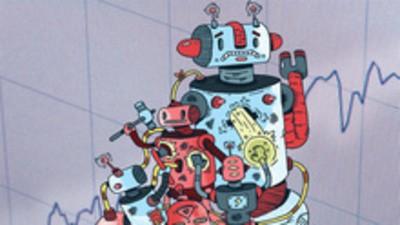 ¿Sabían los operadores robóticos que se acercaba la crisis económica?