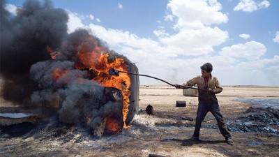 Syrie - Les puits de pétrole illégaux