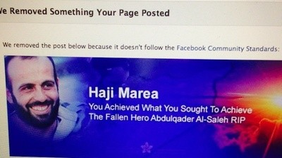 Is Facebook Censoring the Syrian Opposition?