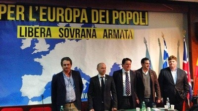 The BNP Partied with European Fascists in Rome This Weekend
