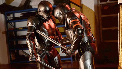 The Future of MMA Could Be RoboCop Suits