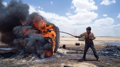 Os Poços de Petróleo Ilegais da Síria