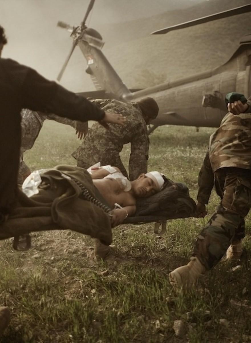 Las impactantes fotos de Moises Saman sobre el ser humano en zonas de conflicto