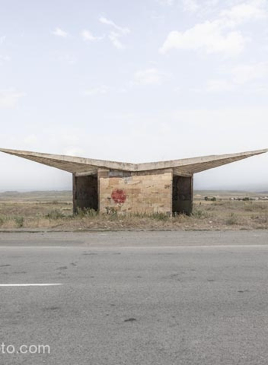 Meet the Guy with the World's Largest Collection of Soviet Bus Stop Photos