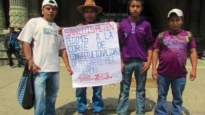 Los agricultores de Guatemala son tan pobres que no pueden ni manifestarse