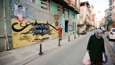 Het eerste kraakpand van Istanbul