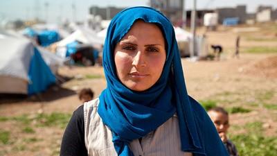 Iraq's Kurdish Refugees Celebrate International Women's Day