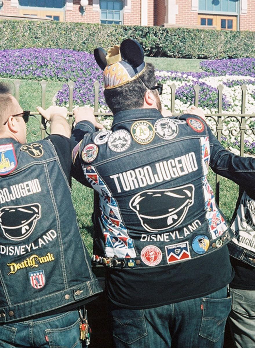 Las extrañas pandillas de Disneyland