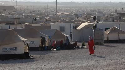 O Campo de Refugiados Za'atari
