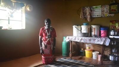 In Lesotho word je sjamaan tegen wil en dank