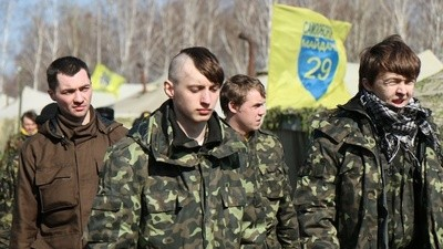 Ukraine Is Training Young Protesters to Fight the Russian Army
