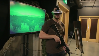Using Virtual Reality to Treat PTSD
