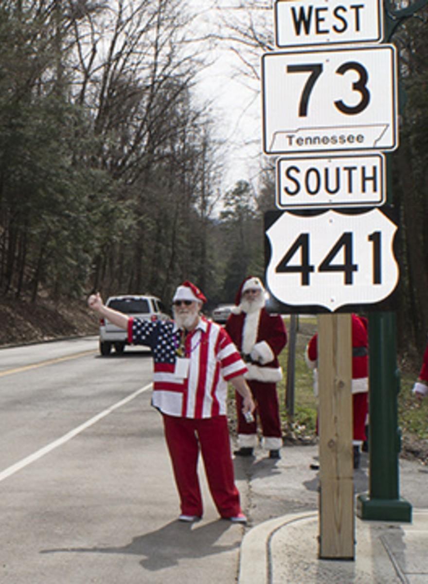 When Santa Wears Camo: Smoky Mountain ClausFest 2014