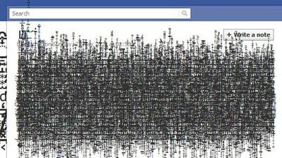 Hacker Artist Glitchr Makes Art By Breaking Facebook