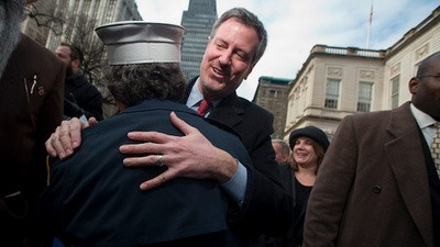 New Yorkers Welcome Bill de Blasio's Leftist Utopia