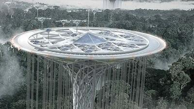 Un rascacielos en forma de flor de loto podría salvar el Amazonas