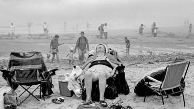 Momentos sublimes de la vida mundana: las increíbles fotos de David Hurns
