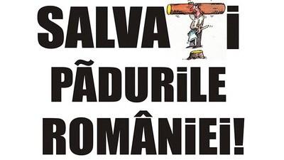 Salvați pădurile României!
