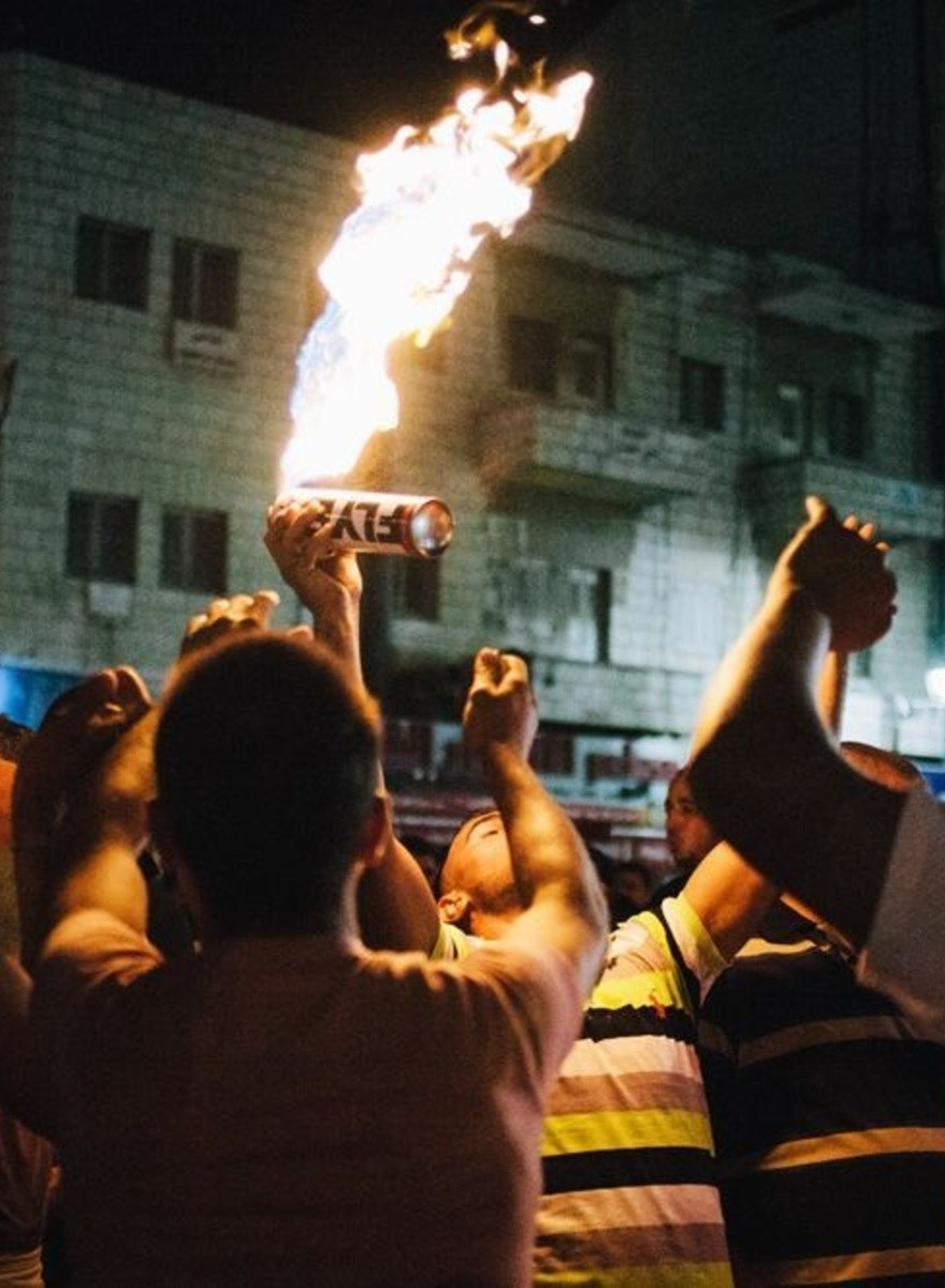 Zwischen brennendem Müll, Tränengas und Sisha-Duft