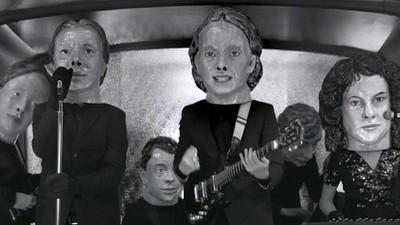 La experiencia tridimensional de Arcade Fire en el Vive Latino